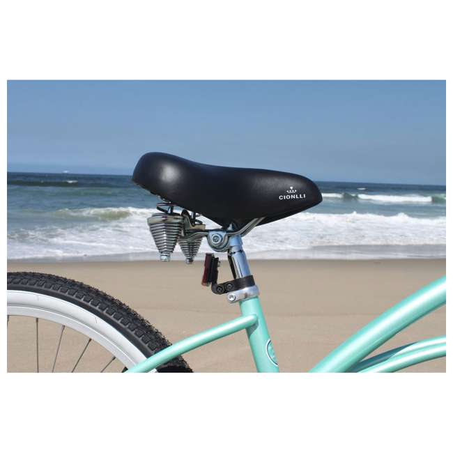 "14602-FM Firmstrong Urban Lady Women's 26"" 3-Speed Cruiser Bike, Mint 7"