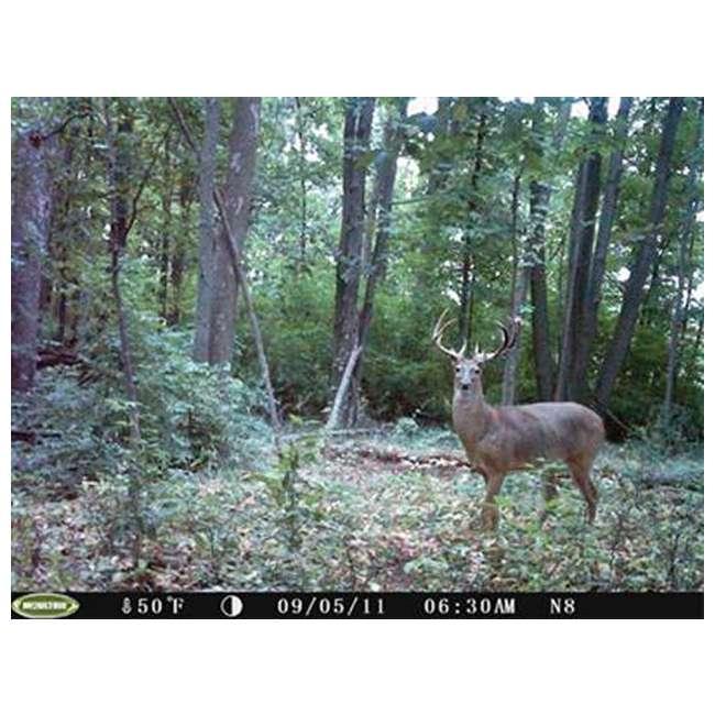 D55-IRXT + EZF30T D55IRXT - MOULTRIE Game Spy Digital Infrared Trail Hunting Camera + EZF30T 30Gal Tripod Feeder 6