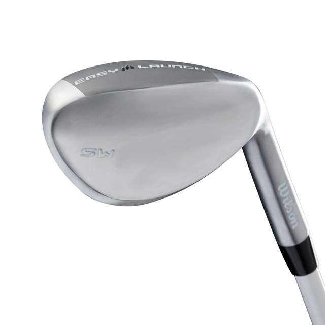 WGGC4380L + WGWP40800 Wilson Profile XLS Women's Left Hand Graphite Golf Club Set & Balls 5