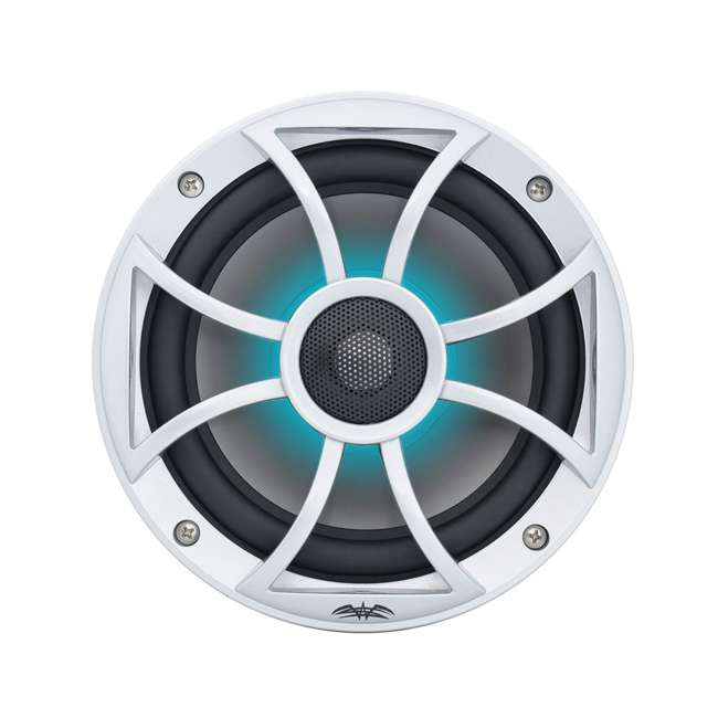 "RECON6SRGB Wet Sounds Recon 6.5"" 2-Way Marine Speakers w/ LED lights 4"