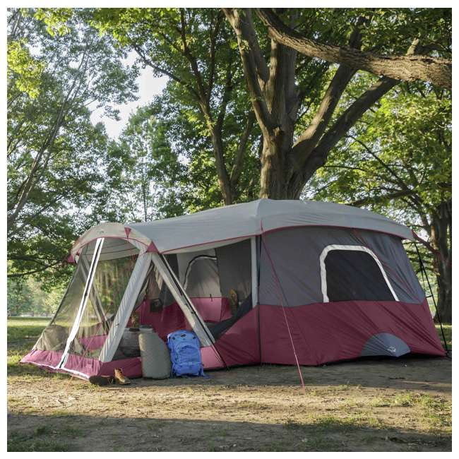 CORE-40072 CORE 40072 11-Person Family Camping Cabin Tent with Screen Room 5