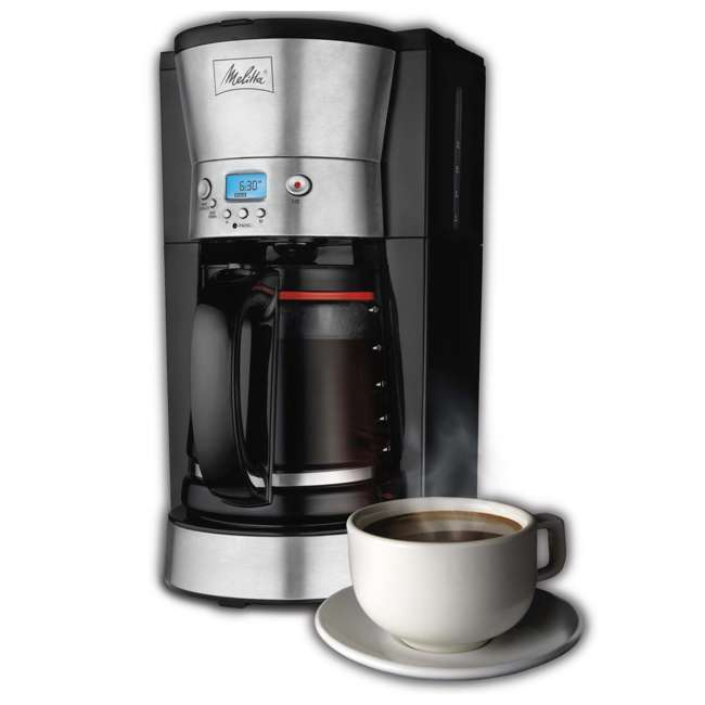 Coffee Maker On Clearance : Melitta 12-Cup Coffee Maker with Breakfast Burrito Maker Bundle 46893 + 25495 : 46893A + 25495