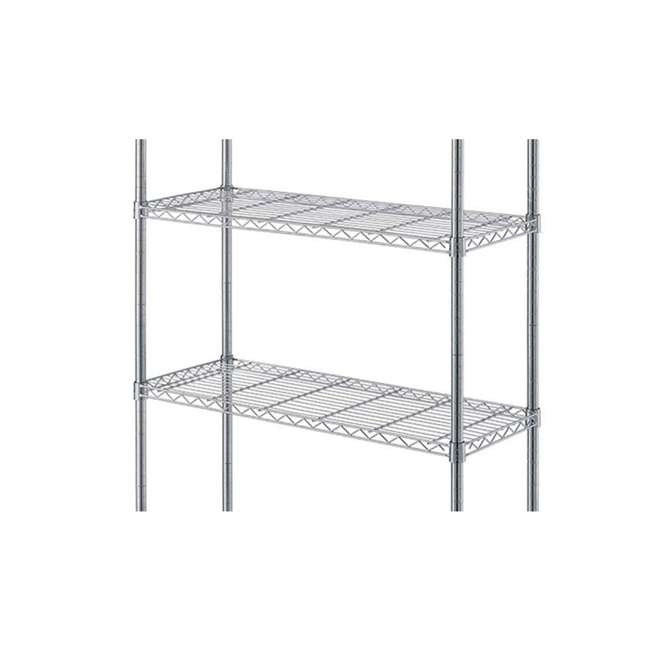 AM178-U-C AIMCO 4 Tier Heavy Duty Household Storage Wire Shelving Unit (For Parts) 2