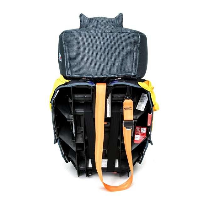 KE-3001BTG Kids Embrace Combination 2 in 1 Booster Forward Facing Car Seat, DC BatGirl 4