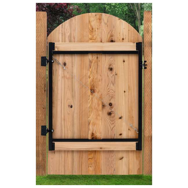 """3 x AG36-U-A Adjust-A-Gate Steel Frame 36""""-60"""" Wide Opening Up To 5' High (Open Box) (3 Pack) 1"""