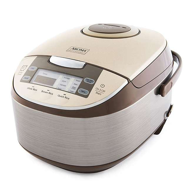 ARC-6106-U-A Aroma Professional 12 Cup Rice & Multi Cooker & Steamer w/ Utensils (Open Box)