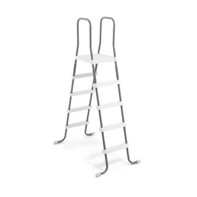 "28067E-U-A Intex Steel Frame Above Ground 52"" Wall Height Pool Ladder (Open Box) (2 Pack)"