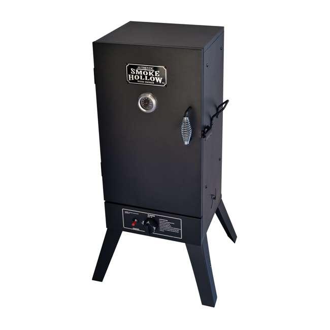 30164G Smoke Hollow 30164G 30-Inch Freestanding Propane Gas Outdoor Smoker, Black