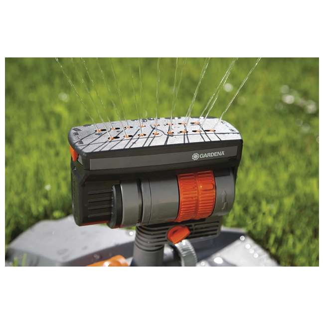 GARD-84-BZMX Gardena ZoomMaxx Oscillating Sprinkler and Base 4