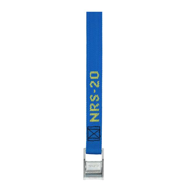 NRS_60001_01_117 NRS 1-Inch Long Heavy Duty Tie Down Strap, 20 Feet Long (Pair) 1