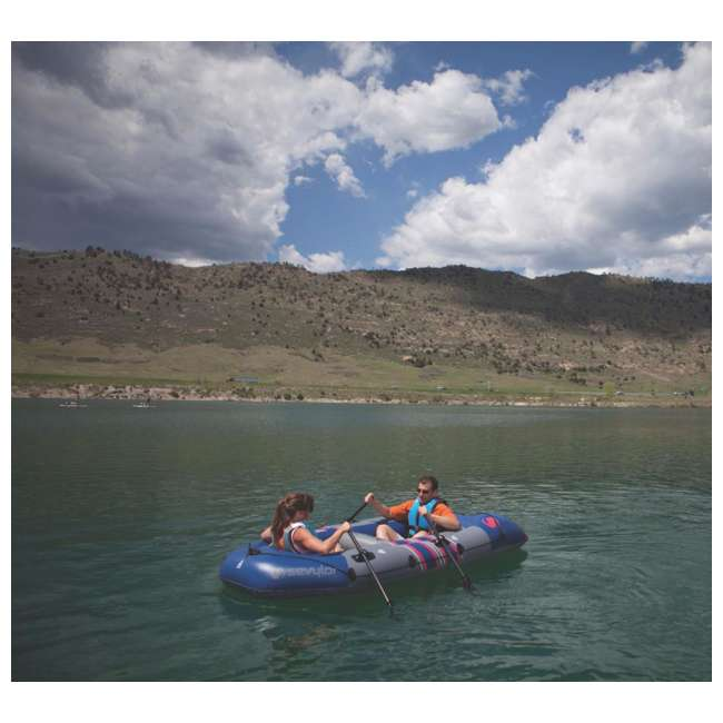 2000014140 Sevylor 3391 Colossus Inflatable 4 Person Boat/Raft 4