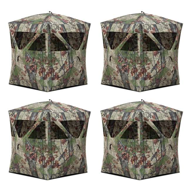 4 x BARR-RA200BW-RB Barronett Blinds Radar Backwoods Hunting Blind, 4 Pack (Certified Refurbished)