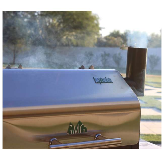 GMG-DCWF-GRILL Green Mountain Davy Crockett Wifi Control Portable Wood Pellet Grill (2 Pack) 2