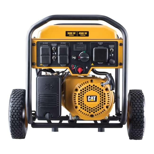 CAT-502-3684 CAT 502-3684 3,600 Running Watts 13 Hour 5 Outlet LED Lit Portable Generator 2