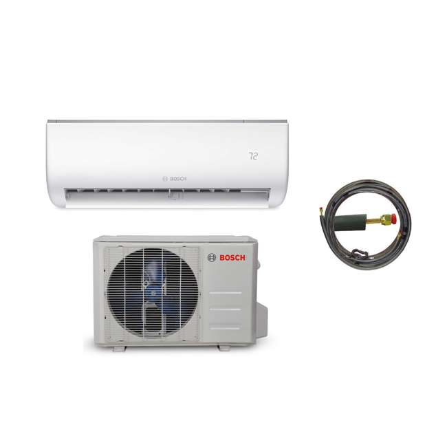 8733942697 + 8733942698 + 8733951011 Bosch Climate 5000 Mini Split Air Conditioner Heat Pump System, 12,000 BTU 230V