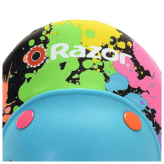 96761 Razor Splatter Ages 5-8 Children's Knee & Elbow Pad Set (2 Pack) 5