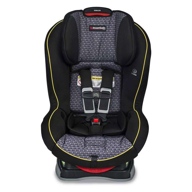 E1A889P Britax Essentials Emblem Convertible Car Seat, Pulse (2 Pack) 1
