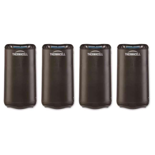 4 x MRPSL Thermacell Outdoor Patio & Camping Mosquito Insect Repellent, Graphite (4 Pack)