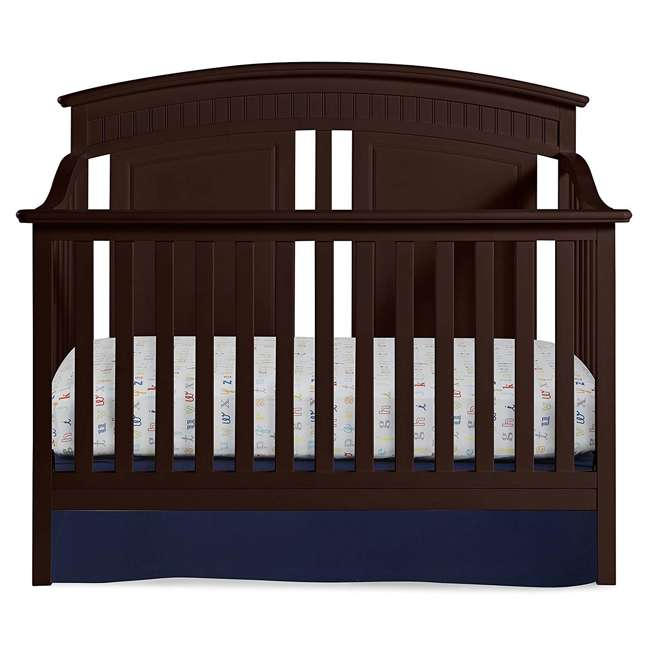 06711-300 + 04565-109 Graco Crib  Mattress & Thomasville Majestic Convertible Crib Bed 11
