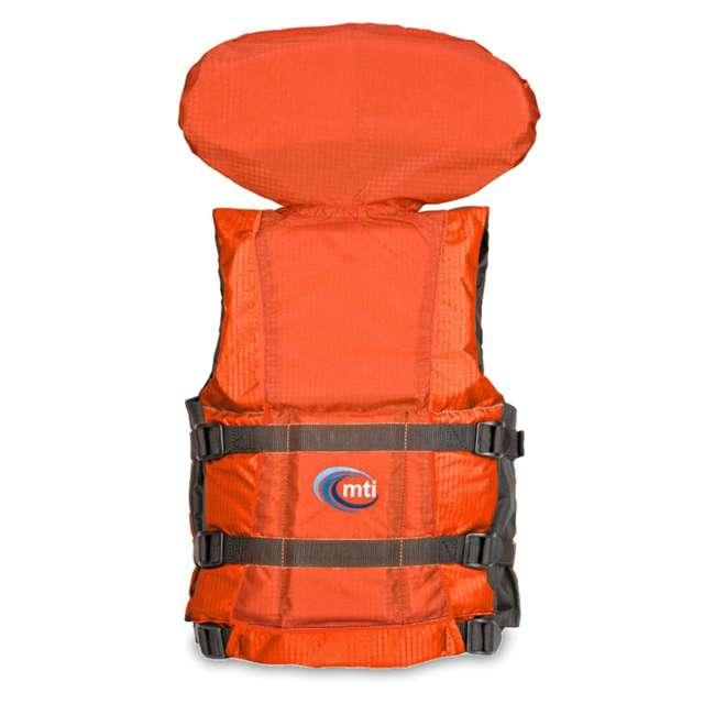 MTI-907D-0E034 MTI Life Jackets Canyon V Adult S/M Life Vest, Orange 1