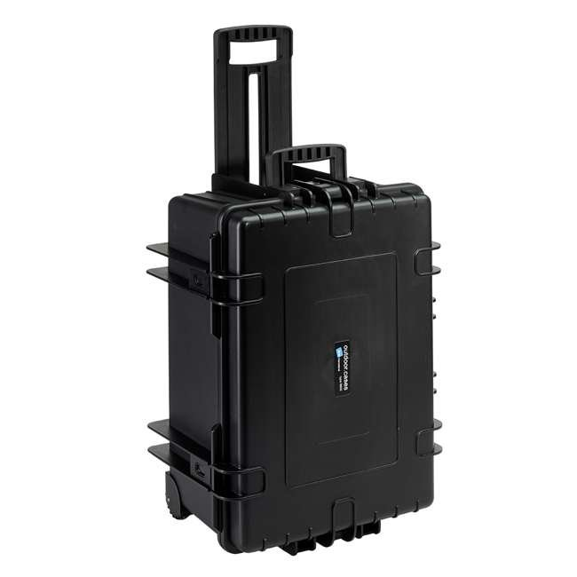 6800/B/RPD B&W International 6800/B/RPD 70.9 L Plastic Outdoor Case w/ Wheels & RPD Insert 3