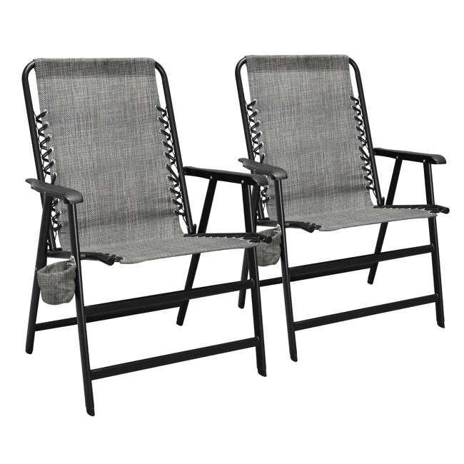 CVANXFC01122-2PK Caravan Canopy Infinity Suspension Chair w/ Cupholder (2 Pack)