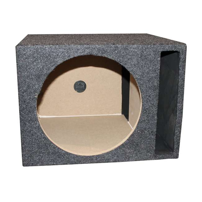P3D4-12 + QSBASS12 Rockford Fosgate P3D412 12-Inch 1000W Subwoofer with Subwoofer Box 7