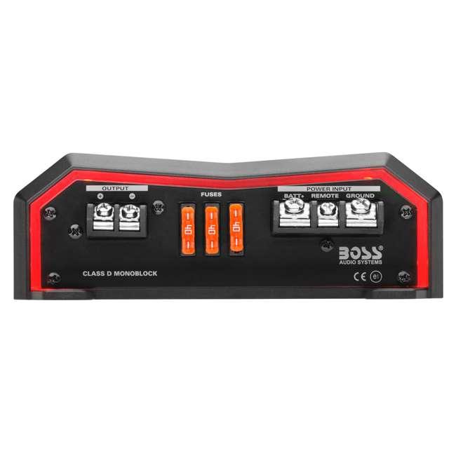 BE4000D Boss Audio Systems 4000 Watt Class D Amplifier  5