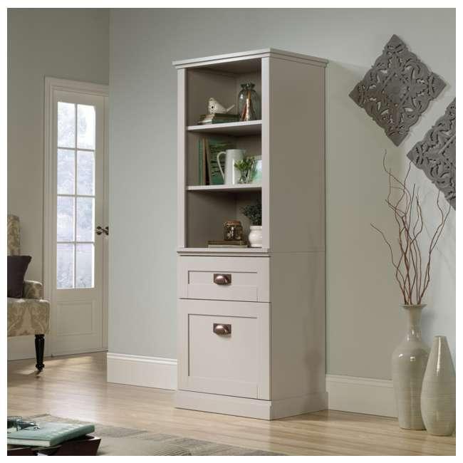 SF-419281-U-A Sauder Home Furniture Grange Tall Storage Farmhouse Shaker Cabinet (Open Box)