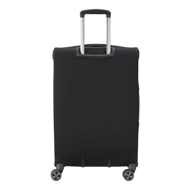 """40229182000 DELSEY Paris 25"""" Expandable Spinner Upright Hyperglide Luggage Suitcase, Black 3"""