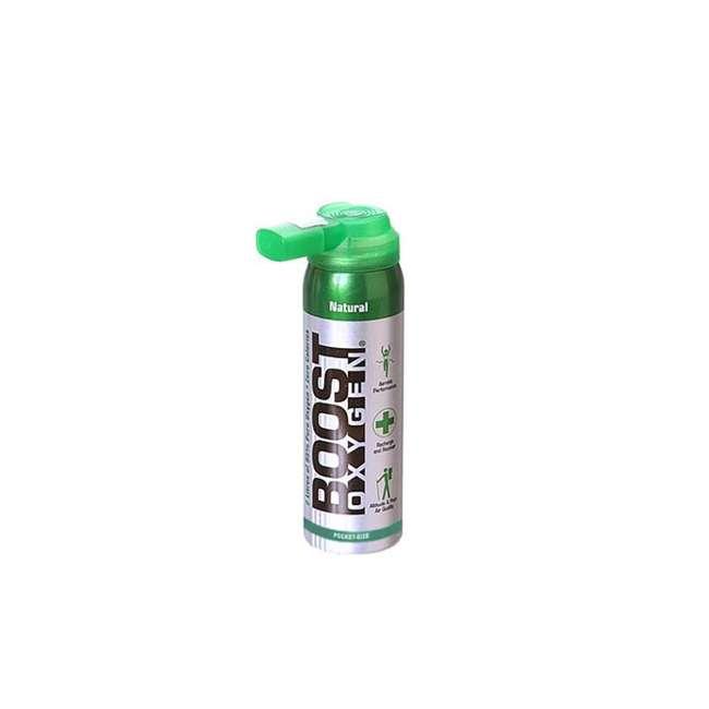 9 x 401-BOOST Boost Oxygen Canned 2-Liter Natural Inhaler Canister Bottle, Flavorless (9 Pack) 1