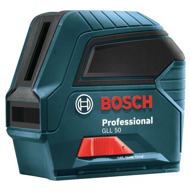 GLL 50-RT-RB Bosch GLL 50 Self Leveling Cross Line Laser Level Kit (Certified Refurbished) 1