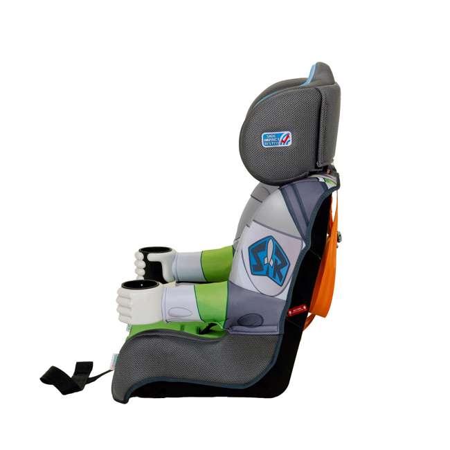 KE-3001BUZ KidsEmbrace Disney Buzz Lightyear Combination Harness Booster Car Seat (2 Pack) 3