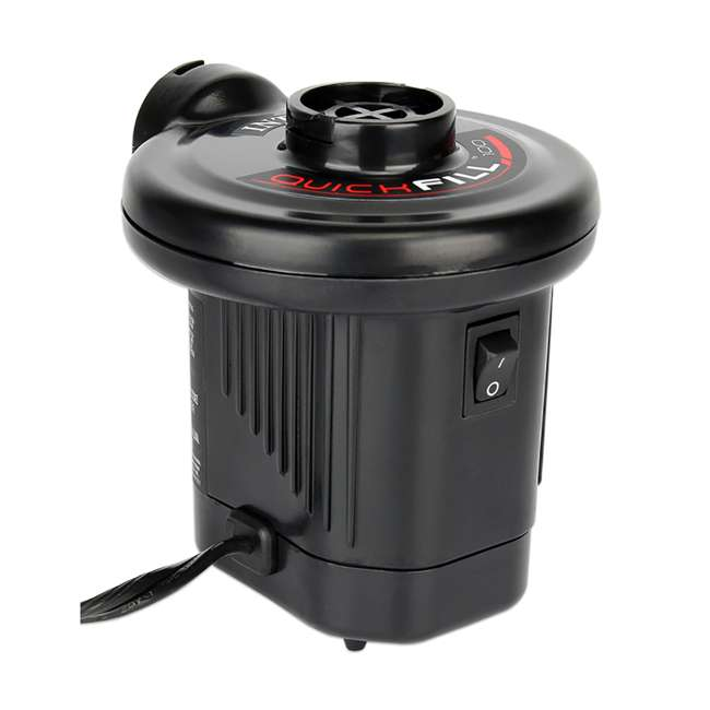 66619E Intex 120V Quick Fill AC Electric Air Pump with 3 Nozzles 1