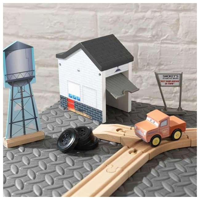 KDK-18015-U-A Kidkraft Disney Pixar Cars 3 50 Piece Thomasville Speedway Track Set (Open Box) 1