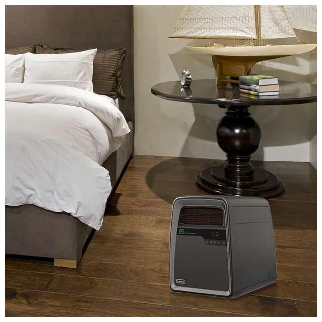 LKO-QB16103-TN Lasko QB16103 Portable Electric 1500W Infrared Quartz Space Heater with Remote 5