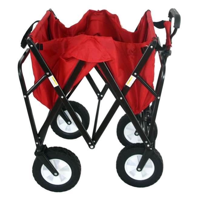 MAC-WTC-109-RED-U-A Mac Sports Collapsible Steel Frame Outdoor Utility Cart(Open Box) (2 Pack) 1