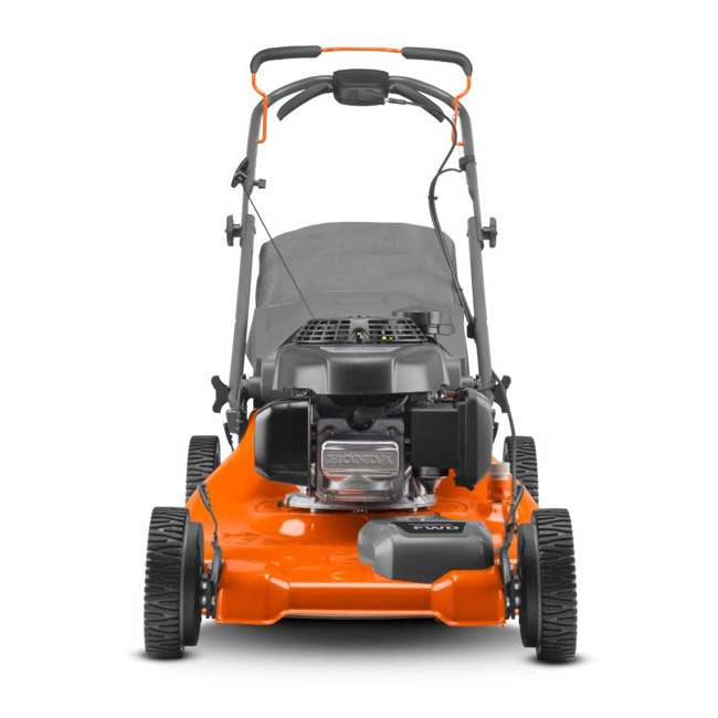 HV-WB-961450036 + HV-TOY-589289601 Husqvarna Walk Behind 21 Inch Self Propelled Gas Mower + Kids Toy Lawn Mower 4