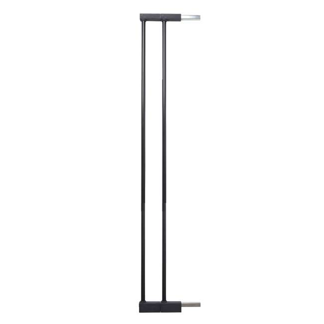 "BBD-5836-2600 BabyDan 5836-2600-10 Premier Extra Tall 3"" Pet Gate Extension, Black (2 Pack) 1"