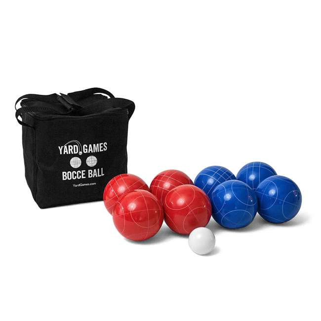 BOCCE-004 Classic 8-Ball 2-Color Backyard Bocce Ball Game Set