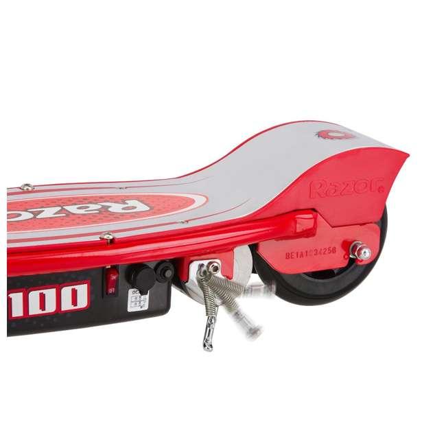 13111260 Razor E100 Electric Scooter, Red 5
