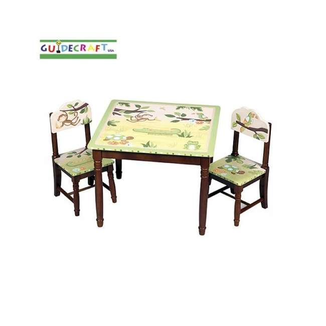 G85402 Guidecraft Papagayo Table & Chairs Set