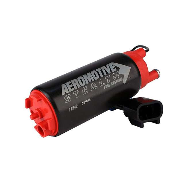 AERO-11542 Aeromotive 340 Series Stealth Vehicle In-Tank Center Inlet E85 Fuel Pump System 1