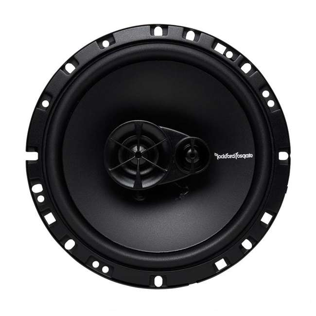 R165X3 Rockford Fosgate R165X3 6.5-Inch 90W 3 Way Coaxial Speakers (Pair) 2
