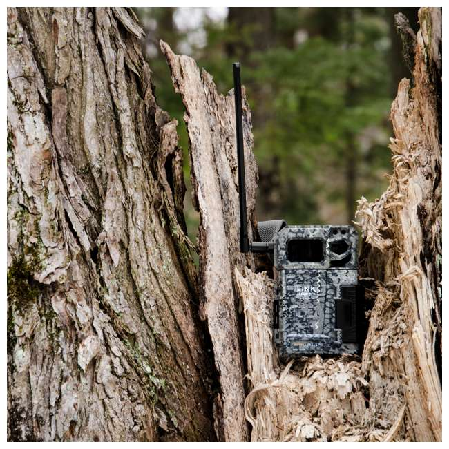MICROUS + BATT SPYPOINT LINK MICRO Nationwide Cellular Hunting Trail Game Camera & Battery 9
