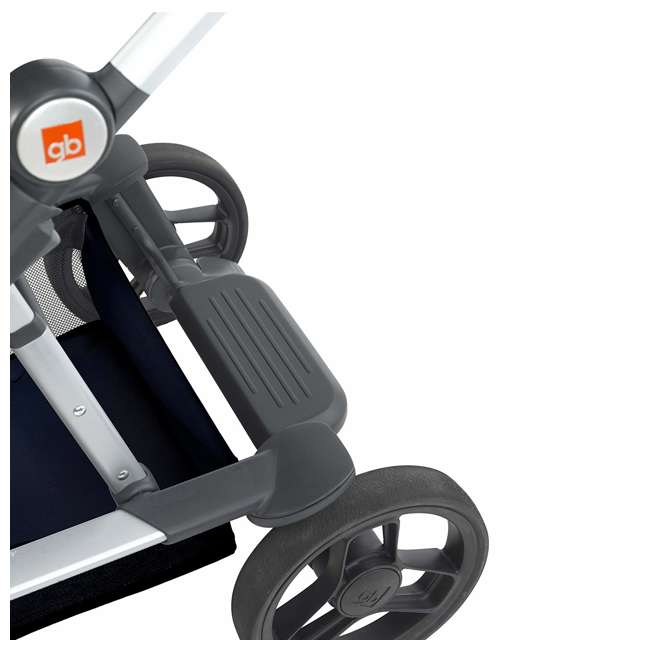 10AT2G-CHA4U GB Evoq 4 in 1 Infant Safe Car Seat Stroller Compact Travel System, Charcoal 4