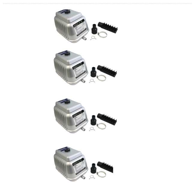 4 x 04580 Pondmaster 04580 Deep Water Pond Air Pump AP 80 (4 Pack)