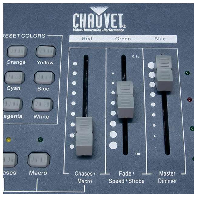 4 x OBEY3 Chauvet DJ Obey3 DMX-512 Light Controller  (4 Pack) 5