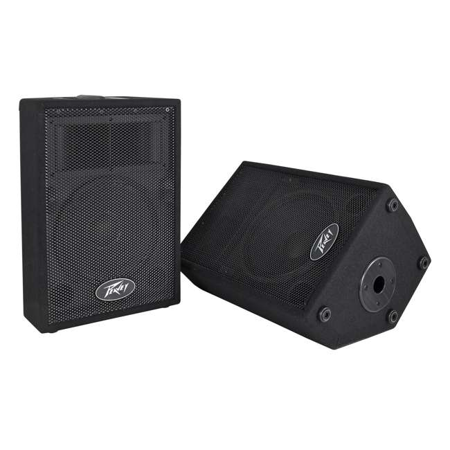 """PVI-10-PAIR-U-C Peavey DJ 2-Way 100W PA Speaker System with 10"""" Woofers (2 Speakers)(For Parts)"""