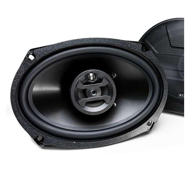 ZS-693-U-B Hifonics Zeus 800 Watt 6 x 9 Inch 3 Way Car Audio Coaxial Speakers Pair (Used) 2
